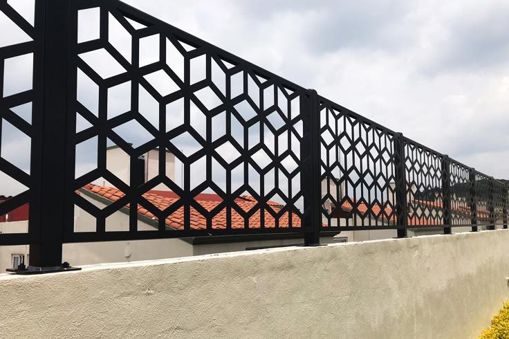 Rejas metálicas decorativas INFINITI