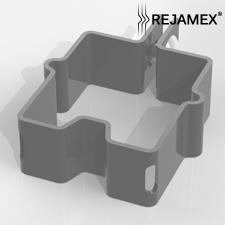 Abrazadera para poste Rejamex